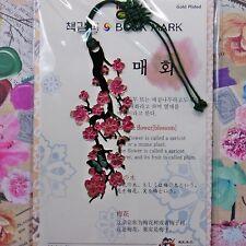 Bookmark Metal K Style Beauty Beautiful Ume Blossom  Freeshipping