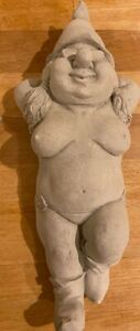Latex Mould for making this Naughty Lady Gnome