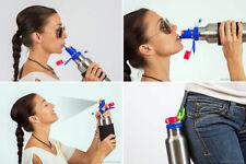 Best Bottle Ever™ (white)- Reusable Steel Sports Water Bottle.