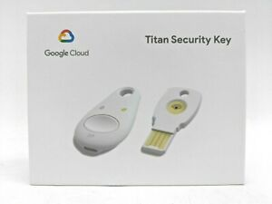 Google Titan Security Key Bundle - USB/ NFC/ Bluetooth (K9T, K13T) -NR3822