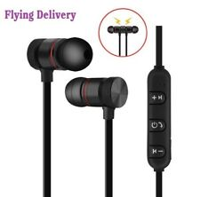 Sport Wireless Bluetooth Earphone Stereo Magnetic With Mic for Samsung iPhone