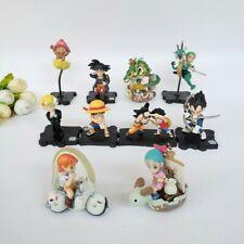 Lot de 10 figurines Dragon Ball Z et One Piece 100% Neuf - 4 à 6cm