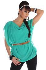 Festliche Kurzarm Damenblusen, - Tops & -Shirts in Größe 38