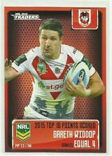 Single - Insert St George Illawarra Dragons Modern (1970-Now) NRL & Rugby League Trading Cards