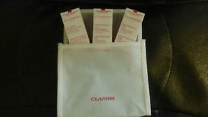 CLARINS SUPER RESTORATIVE NIGHT & DAY & DECOLLETE / NECK CONCENTRATE SAMPLES BAG