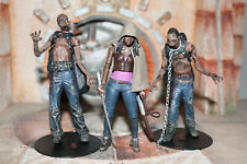3 Pack Michonne With Zombie Pets The Walking Dead TV Series 3