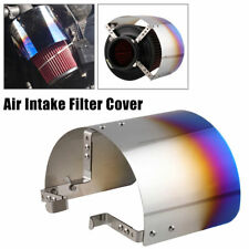 """Stainless Steel Air Filter Cover Heat Shield Steel For 2.5-3.5"""" Cone Filter"""