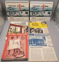 Vintage Mid Century Home Improvement Ads, Brochures, Catalogs