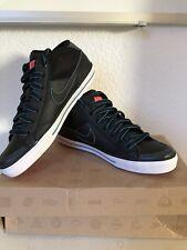 Nike Capri 2 Mid Sneaker Shoe Gr. 36.5 schwarz/blau black/blue NEU NEW