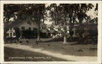 Meredith NH Winnipesaukee Farm c1915 Real Photo Postcard