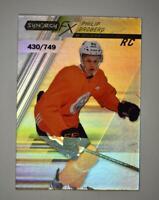 2020-21 UD Synergy FX Rookies #FXR-PB Philip Broberg RC /749 - Edmonton Oilers
