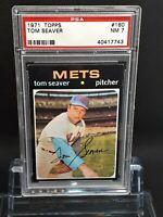 1971 Topps #160 Tom Seaver - HOF - Mets - PSA 7 - NM - 40417743 - (SCA)