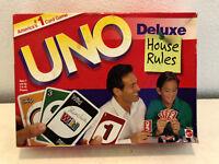 UNO Deluxe House Rules von Mattel Kartenspiel Familien Gesellschafts USA Version