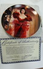 Gone with the Wind Scarletts Resolve Gs Williams Bradford Collector Plate 1989