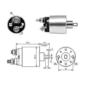 Starter Solenoid Switch For FIAT LANCIA ABARTH ALFA ROMEO FORD 500 51890631