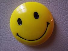 """Vintage Rare Round Shaped Smiley Face Refridgerator Magnet 2"""" X 2"""" Top Quality"""
