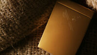 New Rare Gold Kings Playing Cards by Ellusionist Daniel Madison Peter McKinnon