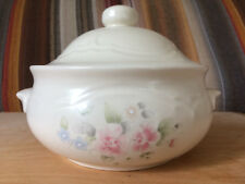 PFALTZGRAFF Tea Rose 2 Quart Round Casserole Dish w Lid Made in USA