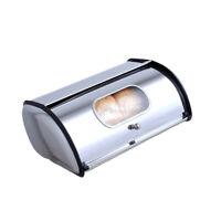 Bread Bin Stainless Steel Kitchen Storage Waterproof Oil-proof Container Box