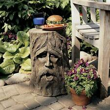 "17.5"" Troll Like Tree People Greenman Middle Earth Ent (Giant) Table Pedestal"