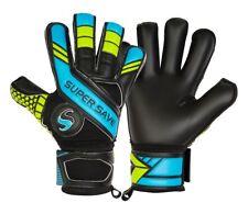 Supersave SS Premier H1 Blue Black Hybrid Cut Football Goalkeeper Gloves