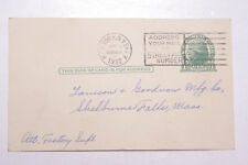 1932 Lamson Goodnow Watchmans Clock Service Co NYC Post Card Ephemera L934B