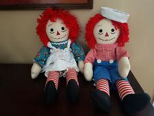 Raggedy Ann & Andy 1980s Dolls