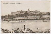 Hungary postcard - Budapest, Kiralyi var - Konigl. Burg