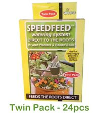Garden Watering System Self Water Drip Slow Release Roots Plant Veggie Twin Pack