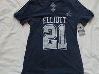 NFL Dallas Cowboys Ezekiel Elliot Women's  Shirt/T-Shirt Medium/M NWT