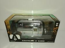 Rare Greenlight Airstream 16' Bambi Trailer 1:24 Green Machine Chase #18236