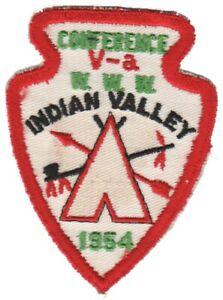 BOY SCOUTS OA Conclave AREA 5A 1954 Section BSA PATCH BADGE