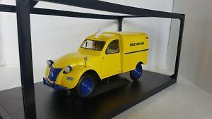Citroën 2CV Fourgonnette Michelin Norev 1957 1/18