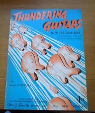 Guitarras tormentosos Combos 1-2-3-4 guitarras + Bajo Eléctrico Estella 1964 Vintage