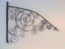 Antique Wrought Iron Sign or Lamp Hanger Bracket