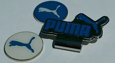 Brand New Double Blue/White Puma Golf Ball marker with hat clip!!