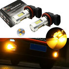 2PCS Gold Yellow 3000K 21-SMD LED Replacement Fog Lights Bulbs For Jeep Renegade