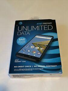 AT&T Radiant Core Prepaid 4g Phone U304AA Brand New. Sealed box.