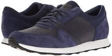 Men UGG Trigo Sneaker Shoes 1017002 Navy Leather Suede 100% Original Brand New