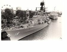 USS Leahy DLG-16 CG-16 Destroyer Navy Ship Original 8x10 1962