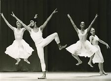 "PHOTO ORIGINALE : PAUL TAYLOR ""AUREOLE"" BALLET PARIS 1979-1980"