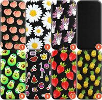 Fruity Patterns Wallet Flexible Phone Case for iPhone | Fruity Cute Summer