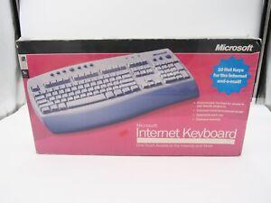 Vintage Microsoft C19-00001 Internet Keyboard X05-52211 - New Factory Sealed