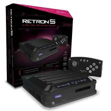 Hyperkin RetroN 5 Retro Video Gaming System (5 in 1) with 2000 bonus games BLACK