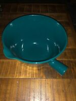 Vintage Arabia Made In Finland Enamel  Sauce Pan Pot