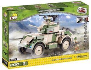 Cobi 200 Bricks Set Staghound KFZ 222 Armoured Car Vertical Take Off Hydro Plane