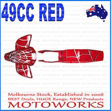 Plastics Guards Fenders Fairing Kit 47cc 49cc Mini Kids Quad Dirt Bike RED