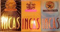 Incas - 1, L'ombra del puma - 2, La scelta di Anamaya - 3, La fiamma di Machu P