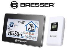 Funk-Wetterstation Thermometer Hydrometer Hygrometer Uhr Feuchtigkeitsanzeige F