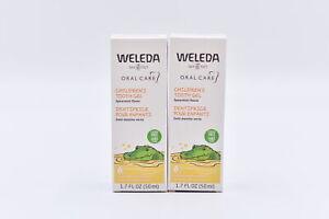 LOT OF 2 Weleda Children's Tooth Gel Oral Care, Spearmint 1.7fl oz EXP: 01/2023